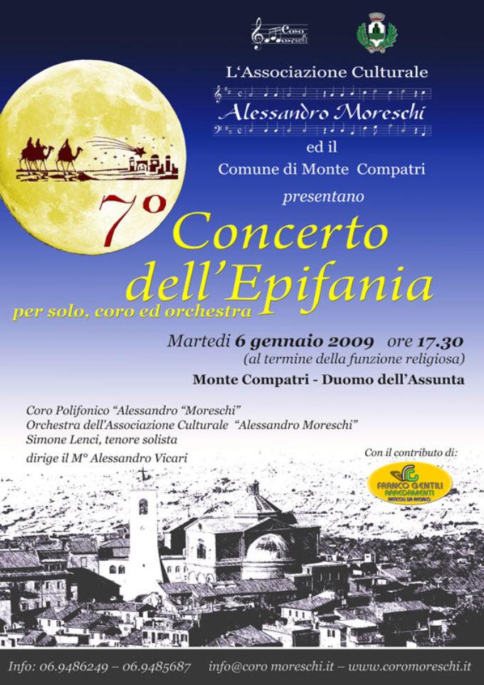 8° Concerto dell'Epifania