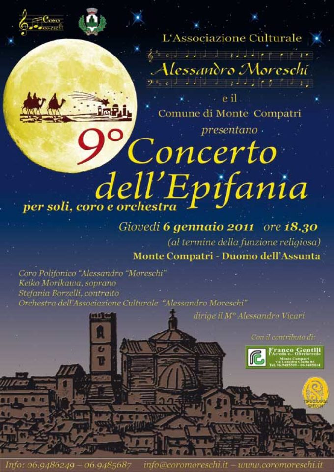 9° Concerto dell'Epifania