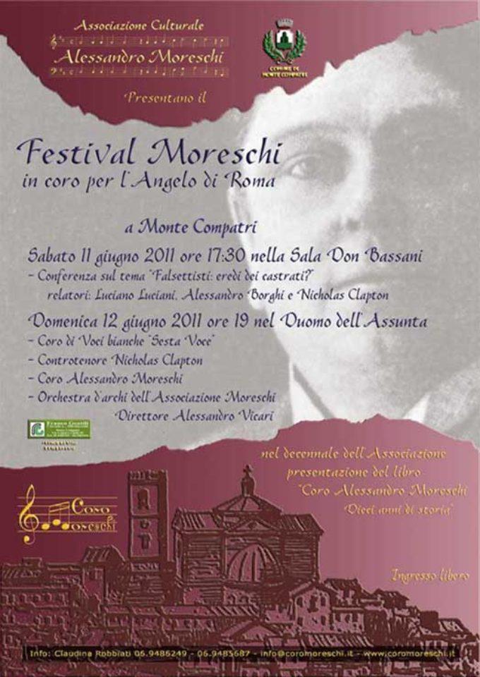 Festival Moreschi. In coro per l'Angelo di Roma – 2011